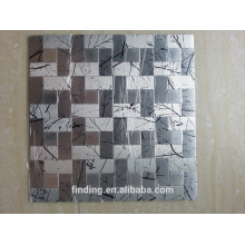 firmemente painéis de azulejos de mosaico decorativo autoadesivo ACP