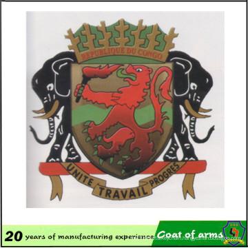 Chinese Factory Custom Congo National Emblem