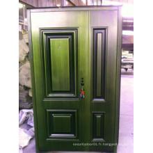 Portière Son-Mère Porte Porte en acier inoxydable en cuivre