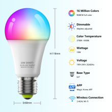 Умная светодиодная лампа Wifi E27