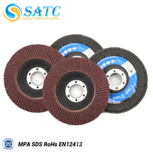 Factory Price Good Quality A/O Flap Disc for Metal Polishing