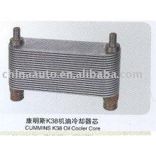 Cheap Diesel Engine Parts Oil Cooler for CUMMINS K38