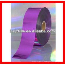 Film de polyester métallisé à la crème