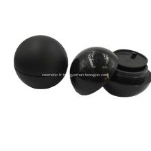 Pot en forme de boule acrylique