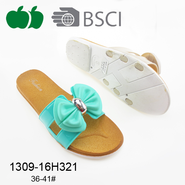 Comfortable Fashion New Design Women Pcu Slipper