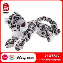 Leopardo enchido do brinquedo macio novo do animal selvagem da chegada
