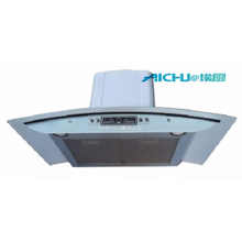 Black White Wall Mounted Range Hood