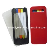 iPhone Shape Ball Pen/Pencil/Highlighter Set with Case (LT-C420)