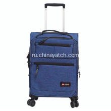 Expandable Zipper Pocket Super Light Carry On Luggage