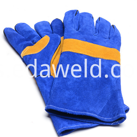 Safety Leather Welding Protection Gloves