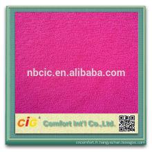 80 20Nylon polyester Yoga Mat tissu polaire d'un côté