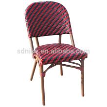 DC- (150) Современный плетеный стул из ротанга обеденный / красочный бамбуковый стул