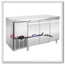 R303 1.8m 3 puertas lujoso Fancooling refrigerador / congelador debajo del mostrador