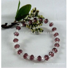 Bracelet en perles chaudes 2015, bracelet en perles de cristal