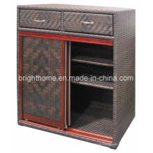 Hand Weaving Shoe Cabinet Indoor and Outdoor Use Bp-S51