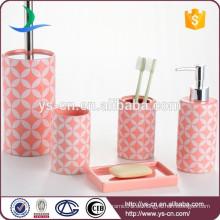 Living Dekor Geschenke Keramik romantische Bad Zubehör rosa