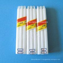 Shrink Bag Emballage Blanc Bougies de ménage