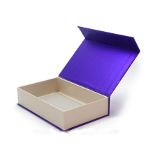 Caixa de presente magnética luxuosa do álbum de fotografias do casamento do fechamento