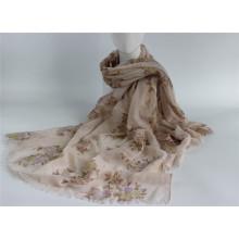 Модный шарф / леди полиэстер Печатный шарф