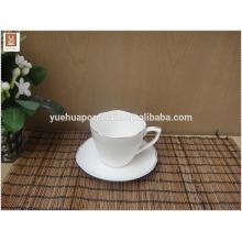 Tasse en céramique personnalisée avec cuillère en gros pour la publicité des cadeaux promotionnels