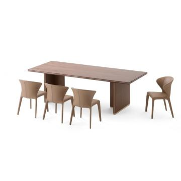 2018 Dining Table New Design Wooden Furniture Restaurant