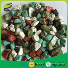Dubai hot sell stone chocolate candy with cheap price