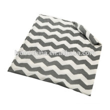 baby bamboo cotton blanket grey baby muslin swaddle wrap