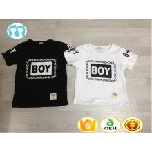 2017 new summer children short shirt fashion cute cartoon cotton casaul T- shirt for children kids wholesale clothing