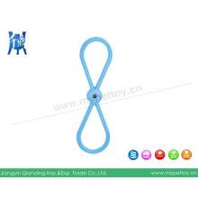 Juguete remolcador de caucho natural (YZC029)