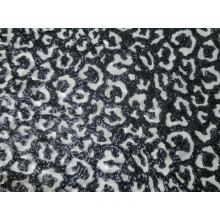 New Development 3mm Black Sequin Embroidery Fabric on Mesh (HZ220190A-01)