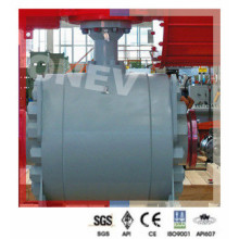 API 608 Pneumatic Class 900 Wcb Bw Ball Valve in 6""