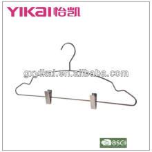Pinzas metálicas de resorte para perchas con muescas y clips, latón antiguo terminado