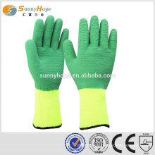 SUNNYHOPE 7gauge grip winter work gloves