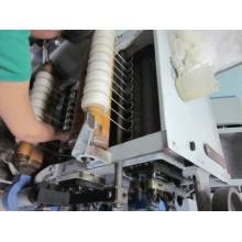 Pequeña máquina textil del hilado de la alpaca