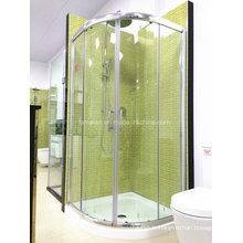 AS / NZS2208 Austalian Standard Tempered Glass Walk dans salle de douche simple avec bac (H002)