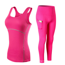 2 Pieces out Fits Yoga Suits Pant and Tank Top