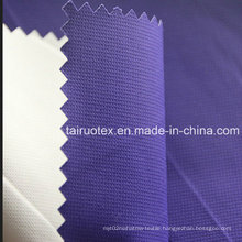 100% Poly Taslon with White Coated for Sportswear Clothes