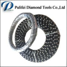 Outils de coupe de main de diamant scie la corde pour couper des roches