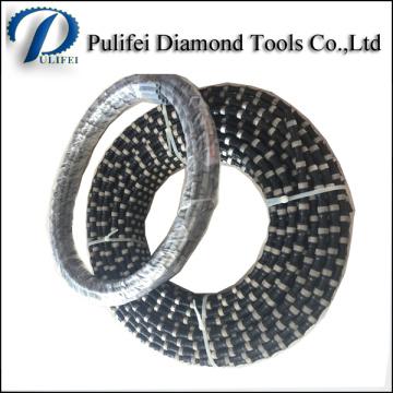 Diamant-Handschneidwerkzeug-Seil sah für das Schneiden von Felsen