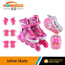 patines de velocidad en línea / skate deportivo