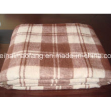Запас акрила и полиэстера смешанный рельеф одеяло