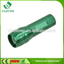 Emergência usando liga de alumínio 3W LED lanterna lanterna de alta potência