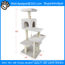 Factory Wholesale Pet Product Indoor Cat Trees