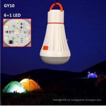 Gy10 trabajo al aire libre fuerte magnético bombilla LED tienda de campaña