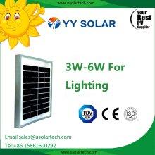 Painel solar de 3W 5W de baixo preço para aplicações solares