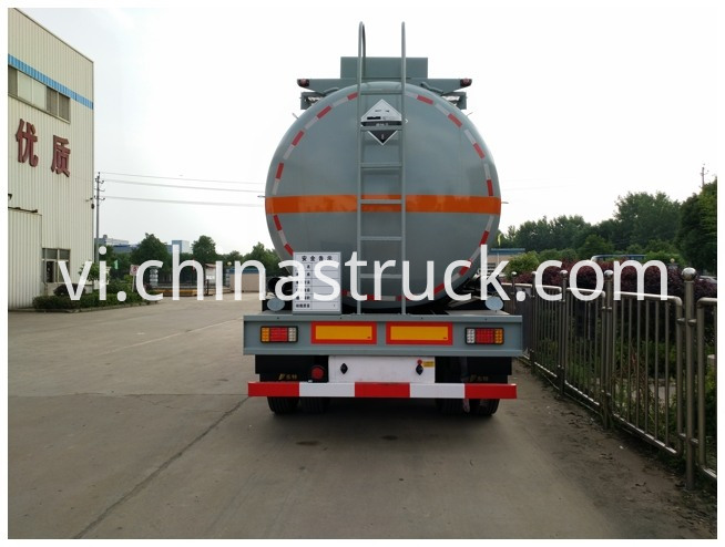 316l Stainless Steel Nh3h2o Tanker Trailer