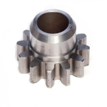Cnc Custom Machined Steel Barrel Gear Dengan Hub