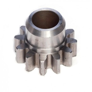 Custom Cnc Machined Steel Barrel Gear Dengan Hub