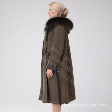 Australien Merino Shearling Long Coat Winter