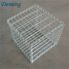 Hot dipped galvanized defence barrier welded Gabion box